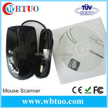 New product Portable USB2.0 A3 A4 scanner USB A3 Mouse Scanner with software CD