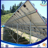 PV Solar panel structures &support,Solar Mounted System,Ground Racking system