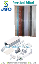 Wand / chain control / scissors type vertical / Vertical blinds accessories and fabric