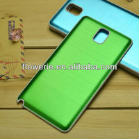 FL2947 2013 Guangzhou hot selling brushed metal battery phone case for samsung galaxy note 3 n9000