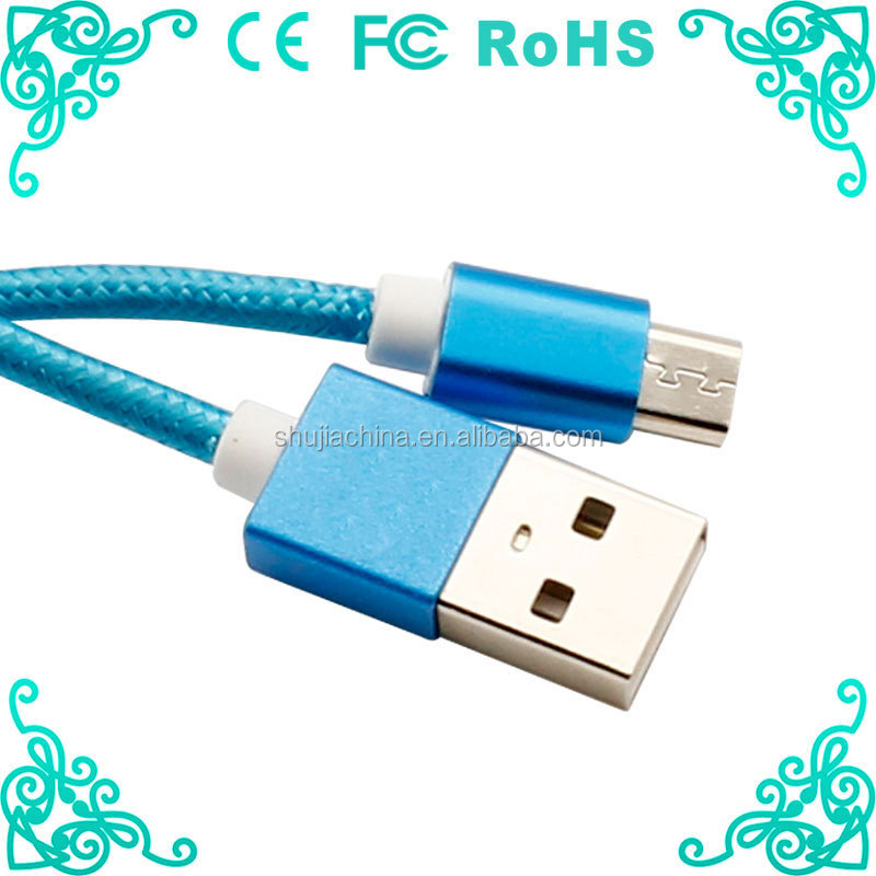 NEW BRAND HIGH POWERED micro usb cable 3feet USB 2 in 1 cable