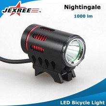Jexree LED Bike Lights - Batteries Included - Bright Headlight and Rear Bicycle Light Flashing Light Mode Lifetime Warranty