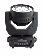 Factory Price 19 * 15w Zoom 4 in 1 led mini beam wash moving head used stage lighting for sale