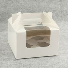 cheap foldable packaging cardboard box cupcake