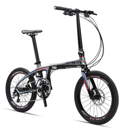 China factory direct supply folding bicycle 20'' carbon frame mini cooper folding bike bicycle export to japan