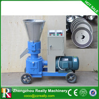 Cheap 80-100kg/h small animal rabbit feed pellet machine for sale