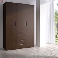 cheap high quality used modern bedroom 3 door living room wardrobe design