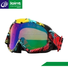 Dirt Bike Riding Off Road Motorcycle Motocross Goggles Glasses with Color Lens
