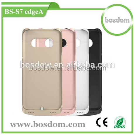 Latest model portable battery for samsung galaxy s7 edge battery case