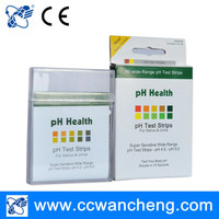 China online shopping true pH test strips 4.5-9.0, urine strip reader