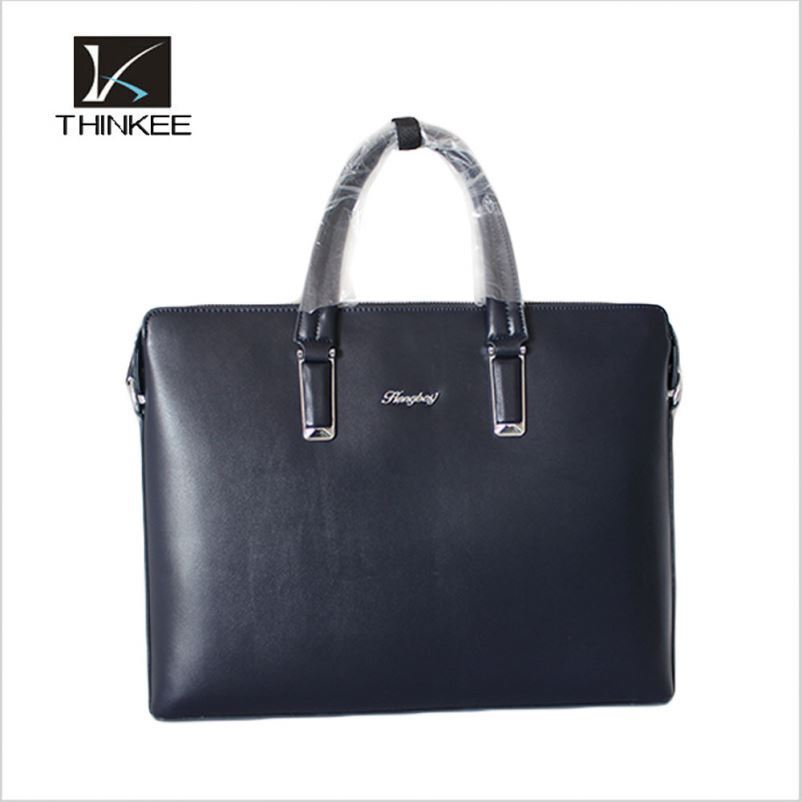 Fashion Business Men Briefcase Bag Wholesale Cow Leather Fashion Handbag