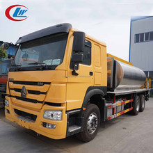 shock price HOWO 6*4 371 hp13000 liter 13m3 13Tons Asphalt Paving Truck