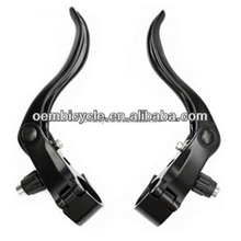 3 Finger Alloy Bicycle Brake Lever For Fixed Gear Bike