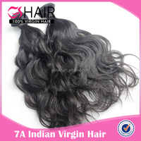 7A hot selling high quality remy hair indian remy ocean wave hair