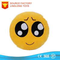 Gifts for Girls Fuzz Yellow Boy Toy Emoji Plush Pillow