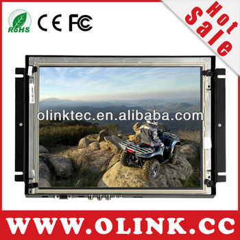 "open frame touch monitor with metal case and frameless design for industrial applications(8"",10.2"",12.1 inch Olink)"