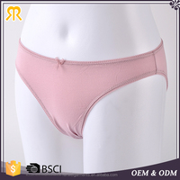 Young girl fitness wear pure colour fashion sexy panties