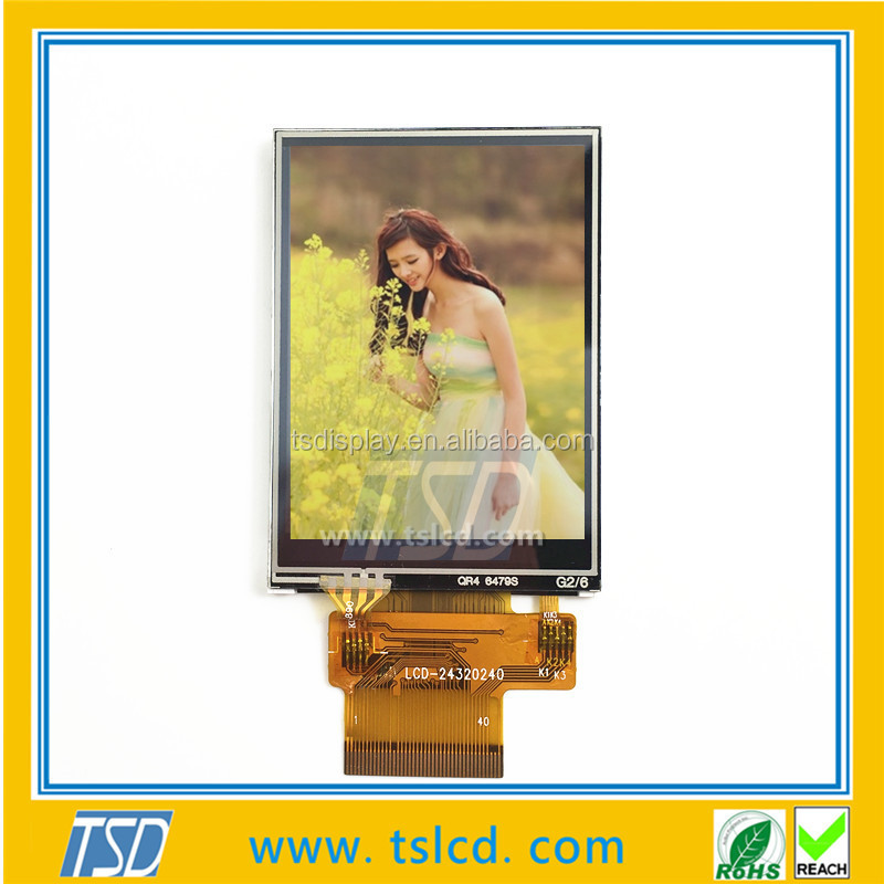 LCD manufacturer 2.4 inch TFT touch screen lcd display 240x320 QVGA