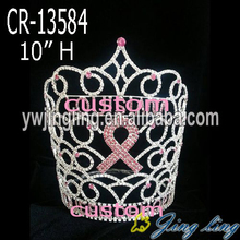 "10"" rhinestone big rainbow pageant crowns"