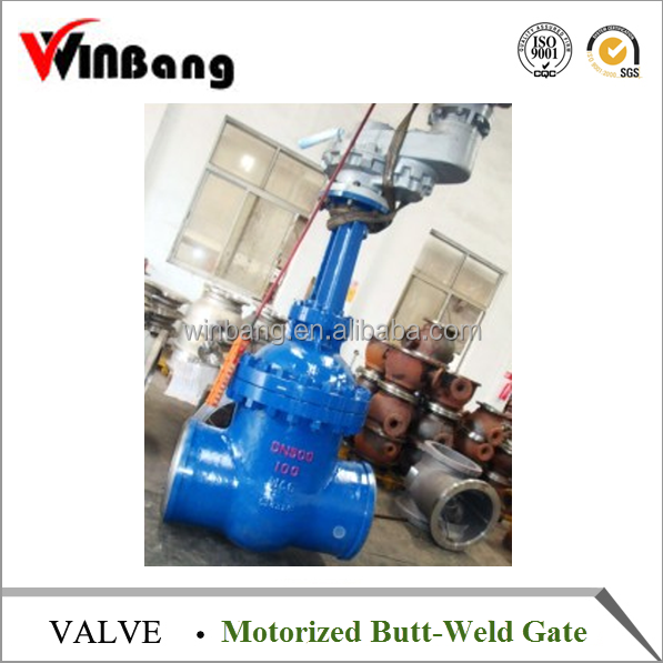 Butt-Weld Gate Valve with Motorized Pn100