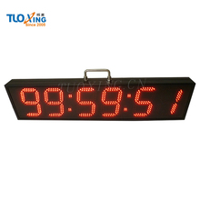 6 inch 6 digits led remote control countdown timer