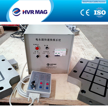 Electro permanent magnetic clamping system different from traditional clamping methods for injection machine