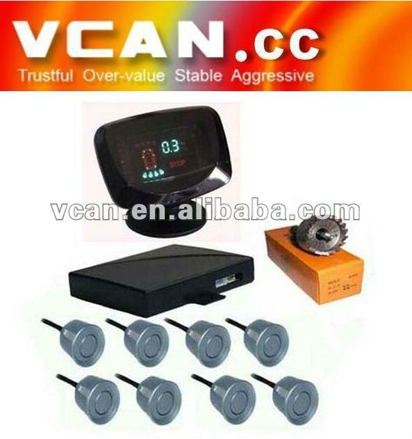 VFD & HUD parking aids With 8 sensors Parking Sensor VCAN0389-7