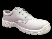 new model white anti-microbial leather hospital nurse wear safety medical shoes