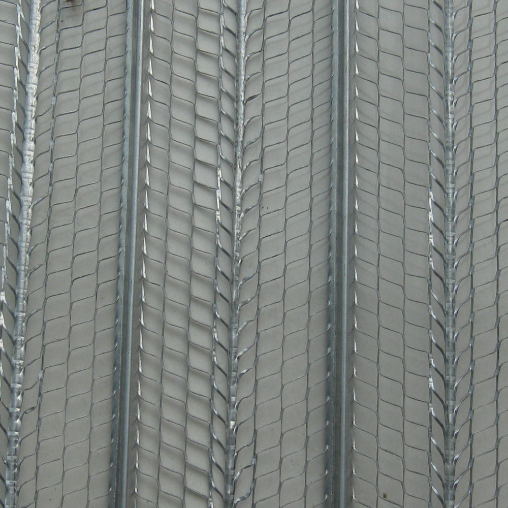 High Quality Galvanized sheet Concrete 0.3mm rib lath supplier