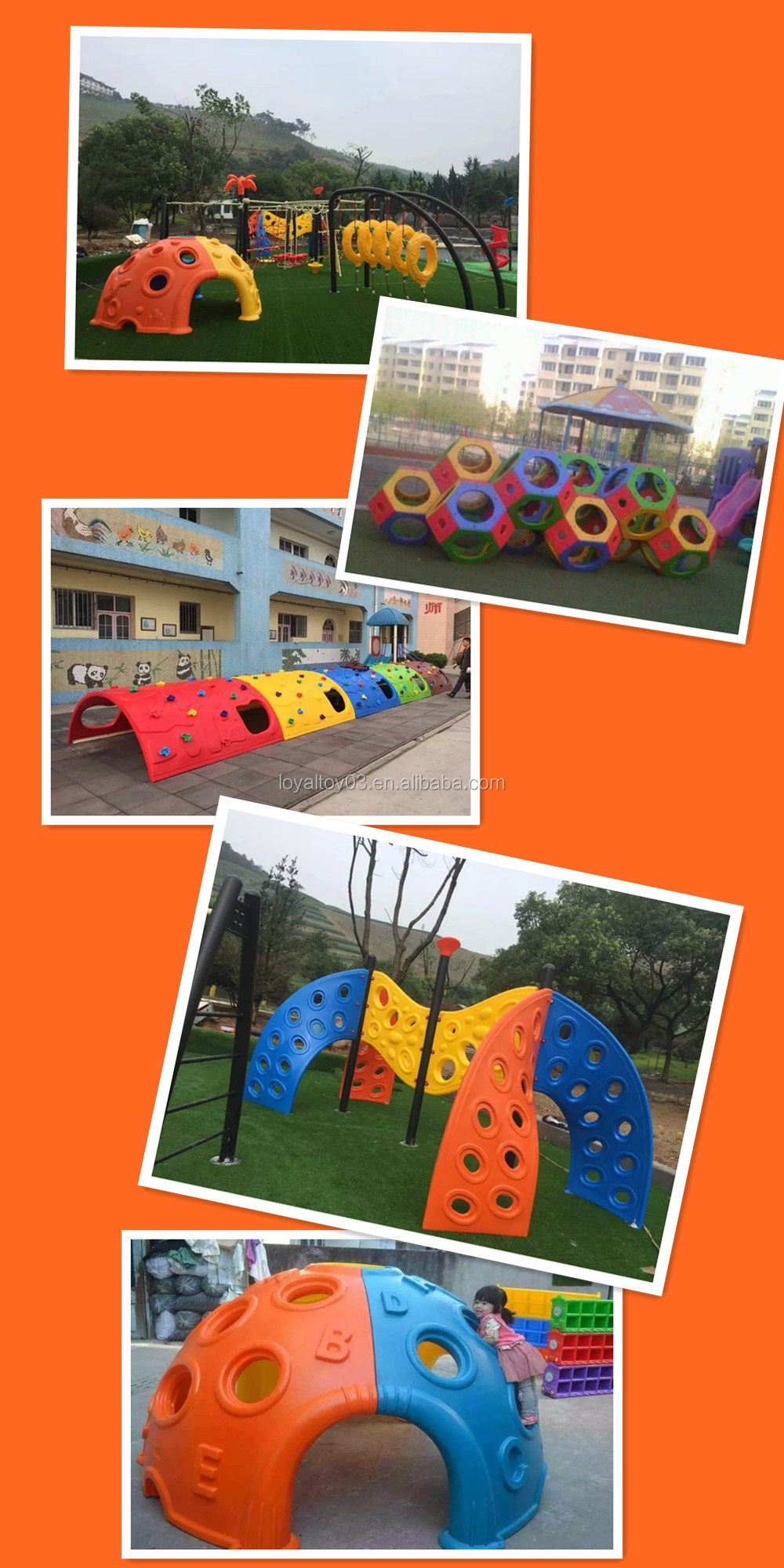 2016 NEWEST PLASTIC PLAY GAMES,PLAY SLIDES,CLIMB SLIDE with best discount