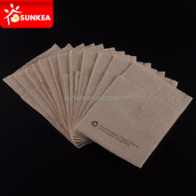 Solid printed BROWN PAPER napkin