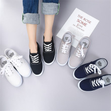 New Design Low Heel Flat Shoes Women Casual Comfort Canvas Shoes For Women