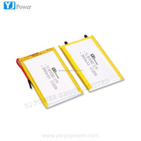 High capacity 3900mAh 3.7V li polymer battery for POS payment terminal/ beauty equipment/solar energy storage devices