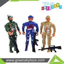 Cheap Plastic Combat Toy Soldier With Gun