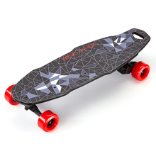 Free shipping !1000W led lights 10km charging 90min fish skateboards with wirless remote control