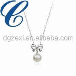 Single Strand Pearl Necklace Set - Pearls