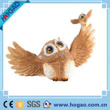 OEM new design to customize home decoration resin animal eagle statue
