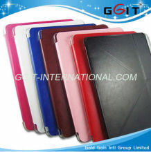 2013 Hot-forming stand leather cover for ipad 5 air