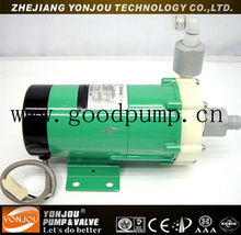 Hydrochloric Acid Sulfuric Pump Acid Transfer Magnetic Pump with PVDF Magnetic Coupling