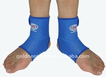 soccer sports nylon elastic ankle support