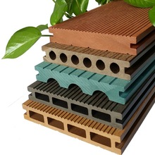 Recycled material outdoor wood plastic composite flooring easy install waterproof wpc flooring for balcony