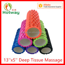 Factory High Density EVA Grid Yoga Exercise Muscles Stretch Deep Tissue Massage Trigger Point Foam Roller