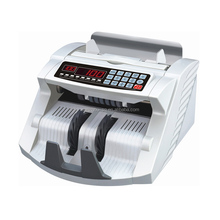 Multi-Buttons Bill Counter with UV+MG+IR+SIZE Counterfeit Detection Money Cash Counting Machine Banknote Counter