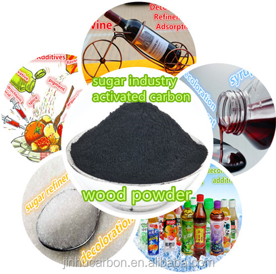 Food grade activated charcoal adsorbent