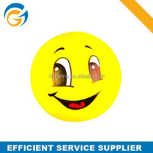 Hot Sale Quality smiley Face Stress Ball Pu Foam Toy