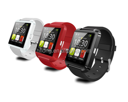 U8 Bluetooth Smart Watch Phone with Touch Screen for Android OS and IOS Smartphone Samsung