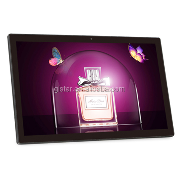 HD wall mounted capacitive touch screen 14 inch 15.6 inch 18.5 inch tablet pc Android