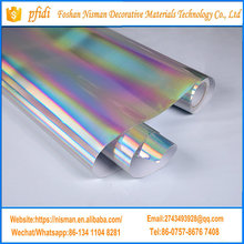 PFIDI Holographic Rainbow Laser Chrome Car Wraps Vinyl