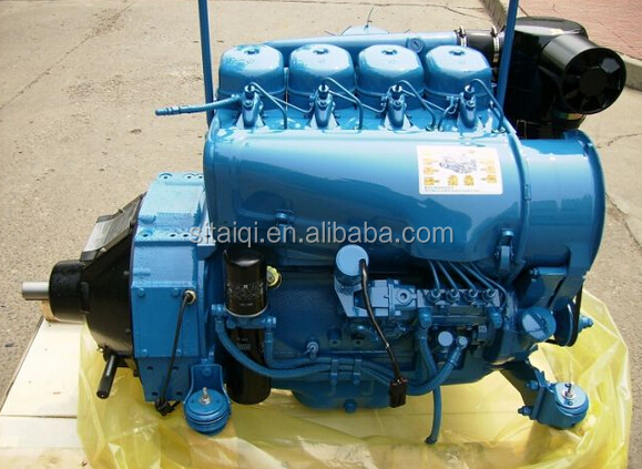 4cylinder air cooled Beinei Deutz diesel engine F4L912 for Construction machinery