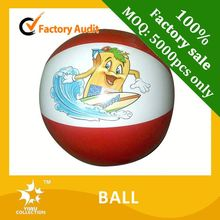 beach ball sitting,pvc rainbow beach ball,promotional inflatable pvc beach ball